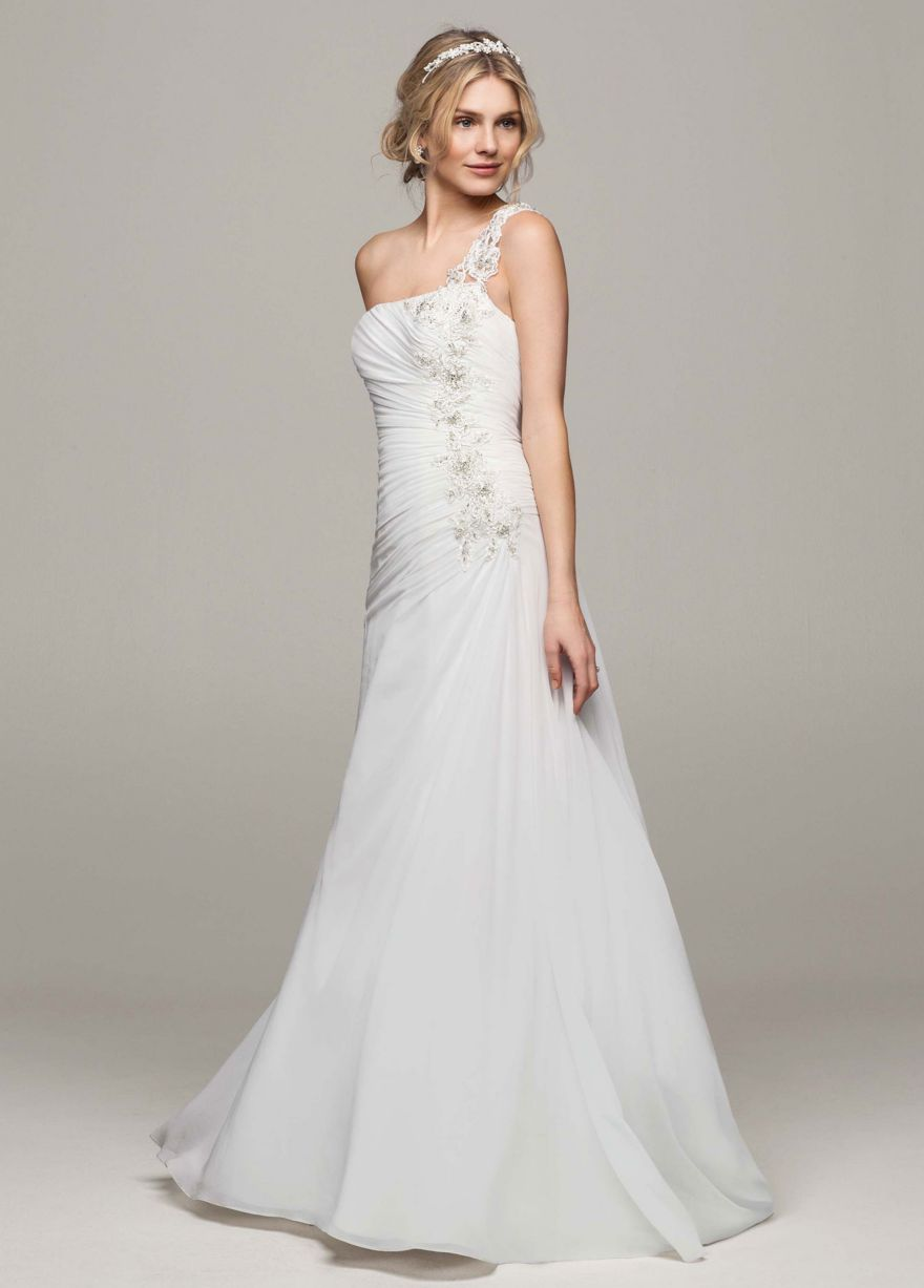 Gown salon selling bridal gowns, bridesmaids dresses, accessories and more.