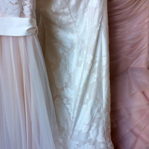 Flowy chiffon, fitted floral and rouched pink!