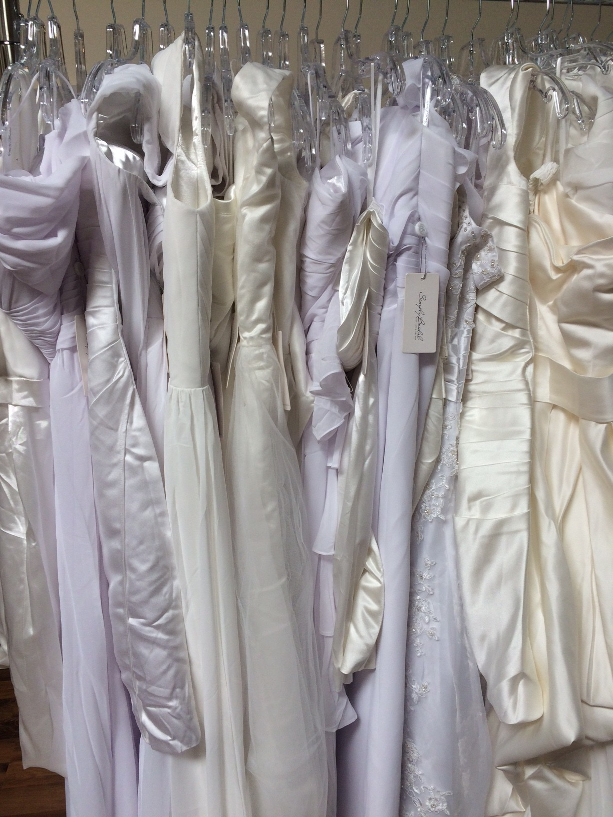 Thank You Simply Bridal For Donating 300 Wedding Dresses To Our Portland Boutique These Range From Sizes 0 30 In An Assortment Of Styles